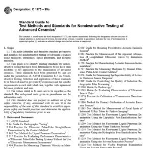 ASTM C 1175 – 99a pdf free download