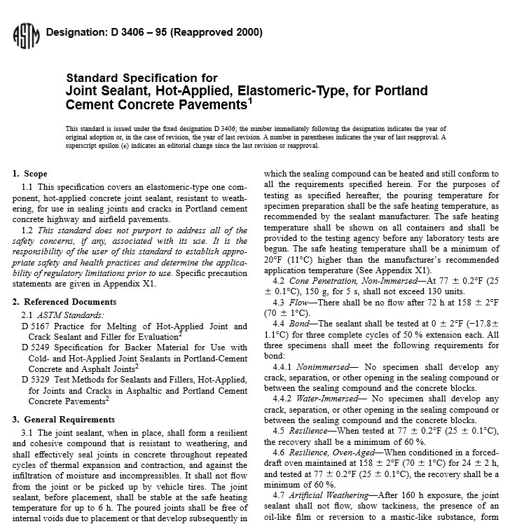 ASTM D 3406 – 95 pdf free download - Civil Engineers Standards