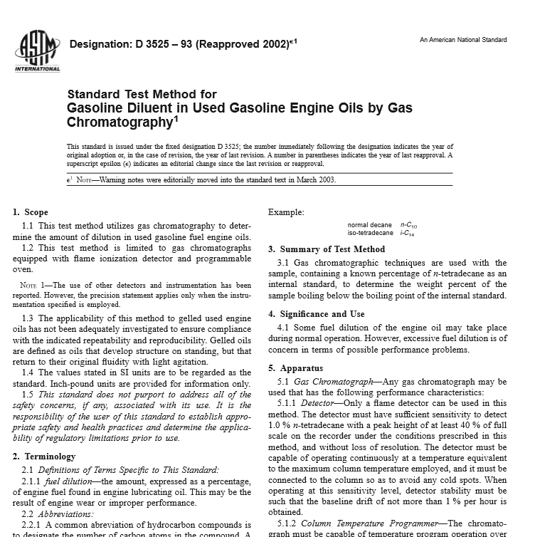 ASTM D 3525 – 93 pdf free download - Civil Engineers Standards