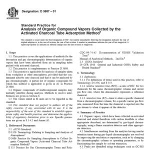 ASTM D 3687 pdf free download