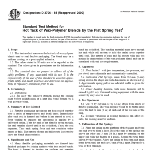 ASTM D 3706 – 88 pdf free download