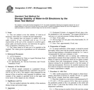 ASTM D 3707 – 89 pdf free download