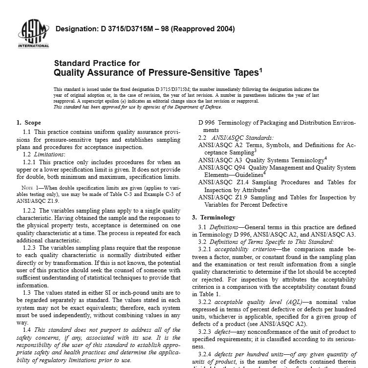ASTM D 3715 D3715M – 98 pdf free download - Civil Engineers Standards
