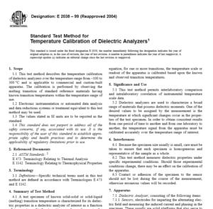ASTM E 2038 – 99 pdf free download