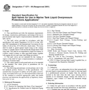 ASTM F 1271 – 90 pdf free download