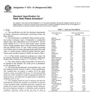 ASTM F 1273 – 91 pdf free download